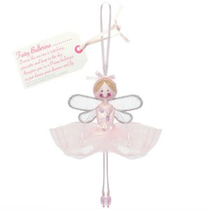 Fairy Ballerina - Light Pink | Believe You Can | Unique Gifts | Oscar & B | UK