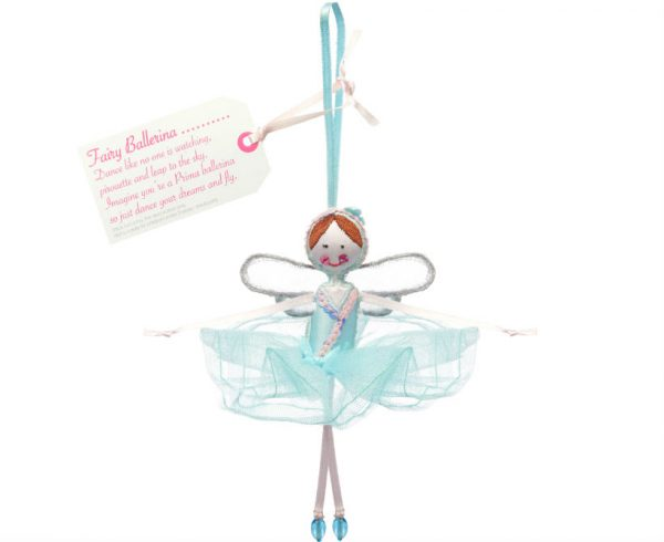 Fairy Ballerina - Turquoise Blue | Believe You Can | Unique Gifts | Oscar & B | UK