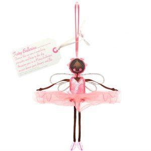Fairy Ballerina - Fuchsia | Believe You Can | Unique Gifts | Oscar & B | UK