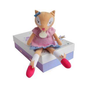 Pretty Little Vixen Fox   Doudou et Compagnie   Unique Gifts   Oscar & B   United Kingdom