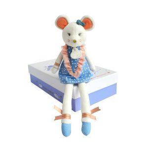 Dainty Little Mouse   Doudou et Compagnie   Unique Gifts   Oscar & B   United Kingdom