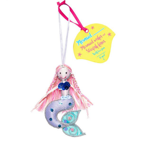 Pink Hair Mermaid | Believe You Can | Unique Gifts | Oscar & B | United Kingdom