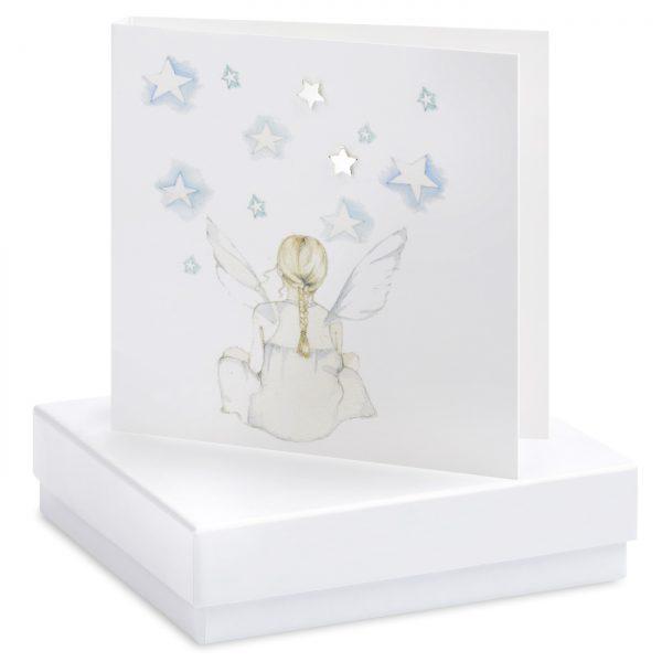 Stargazer Earring Card | Crumble & Core | Unique Gifts | Oscar & B | UK