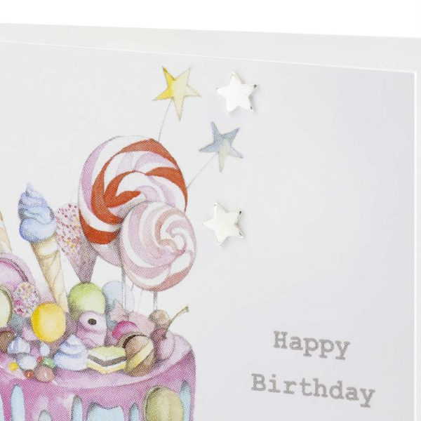Truly Scrumptious Earring Card   Crumble & Core   Unique Gifts   Oscar & B   UK