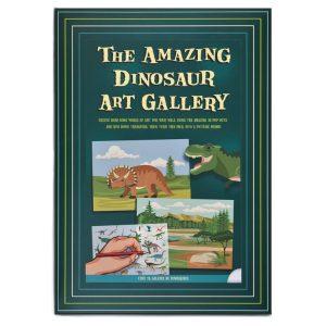 Dinosaur Art Gallery | Clockwork Soldier | Unique Gifts | Oscar & B | UK