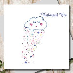 Thinking Of You Card | Marina B | Unique Gifts | Oscar & B | United Kingdom