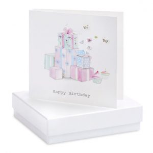 Birthday Presents Earring Card | Crumble & Core | Unique Gifts | Oscar & B | UK