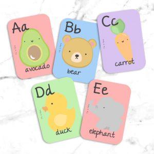 Alphabet Flash Cards | Fili & Flora | Unique Gifts | Oscar & B | United Kingdom