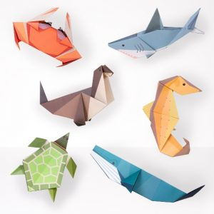 Create your own Giant Ocean Origami | Clockwork Soldier | Unique Gifts | Oscar & B | UK