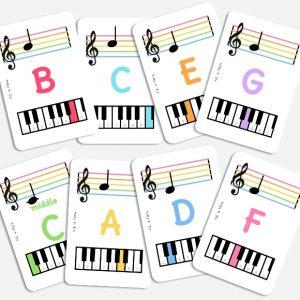 Music Theory Flash Cards | Fili & Flora | Unique Gifts | Oscar & B | United Kingdom