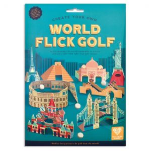 Create your own World Flick Golf | Clockwork Soldier | Unique Gifts | Oscar & B | UK