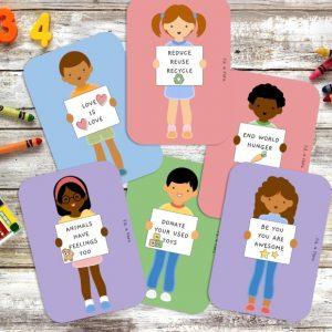 Diversity Flash Cards | Fili & Flora | Unique Gifts | Oscar & B | United Kingdom