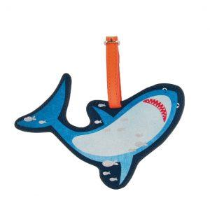 Shark Luggage Tag   Floss & Rock   Unique Gifts   Oscar & B   United Kingdom