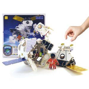 Space Station Playset | Play Press | Oscar & B | United Kingdom
