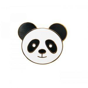Panda Enamel Pin | Unique Gifts | Oscar & B | UK