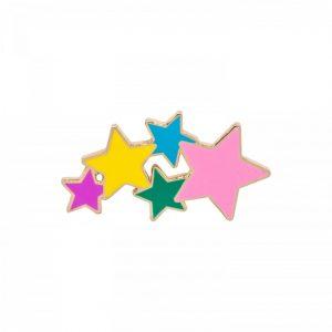 Stars Enamel Pin | Unique Gifts for Children | Oscar & B | UK