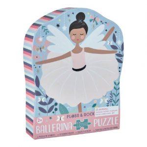 Floss & Rock 12 Piece Ballerina Puzzle | Unique Gifts for Children | Oscar & B