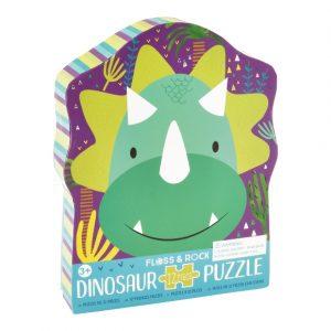 Floss & Rock 12 Piece Dinosaur Puzzle | Unique Gifts for Children | Oscar & B