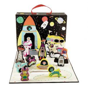 Space Play Box | Floss & Rock | Unique Gifts | Oscar & B | United Kingdom